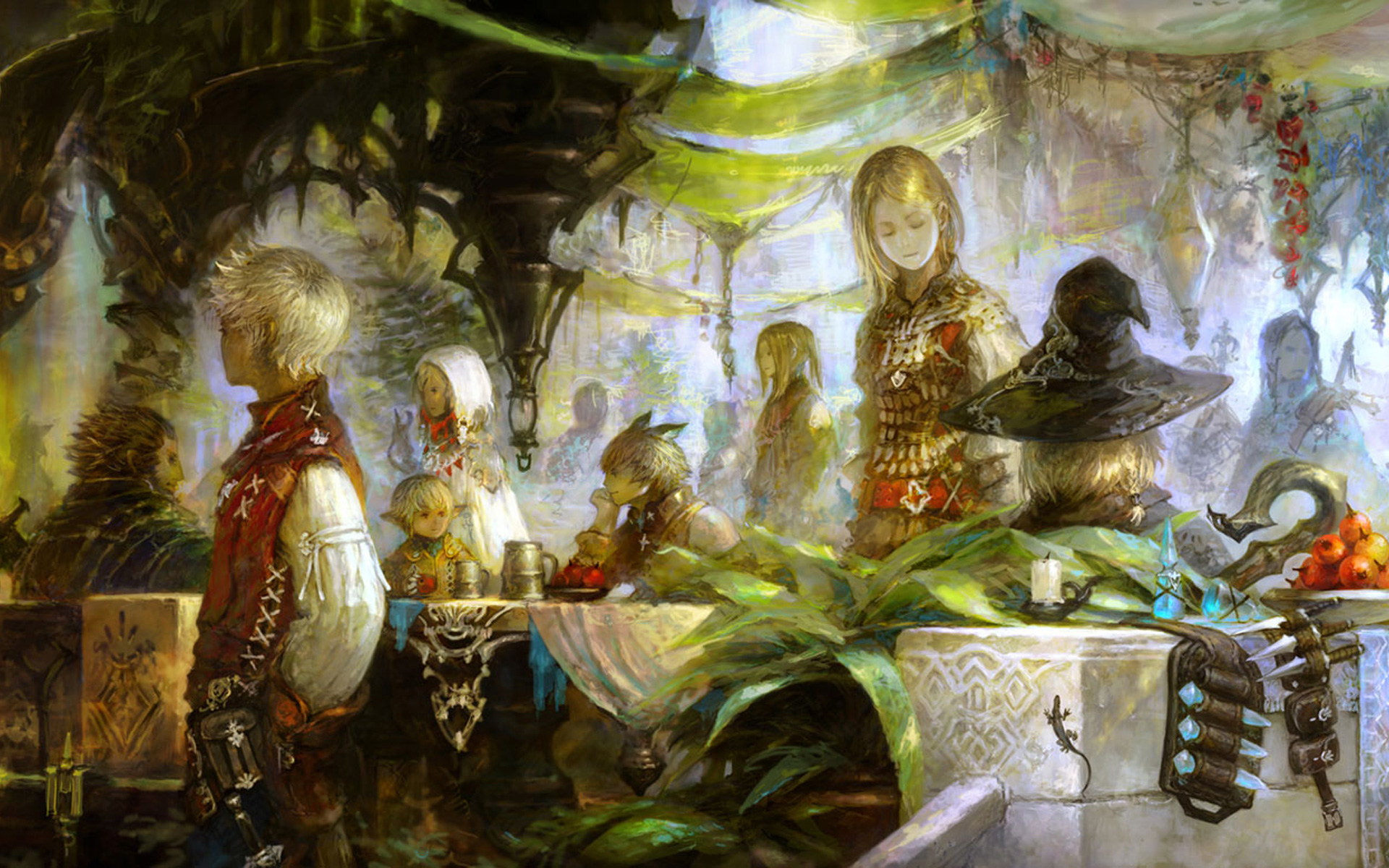 Free Final Fantasy XIV Wallpaper in 1920x1200