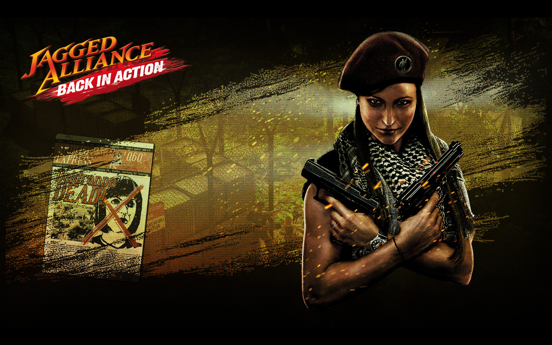 Free Jagged Alliance: Back in Action Wallpaper in 1920x1200