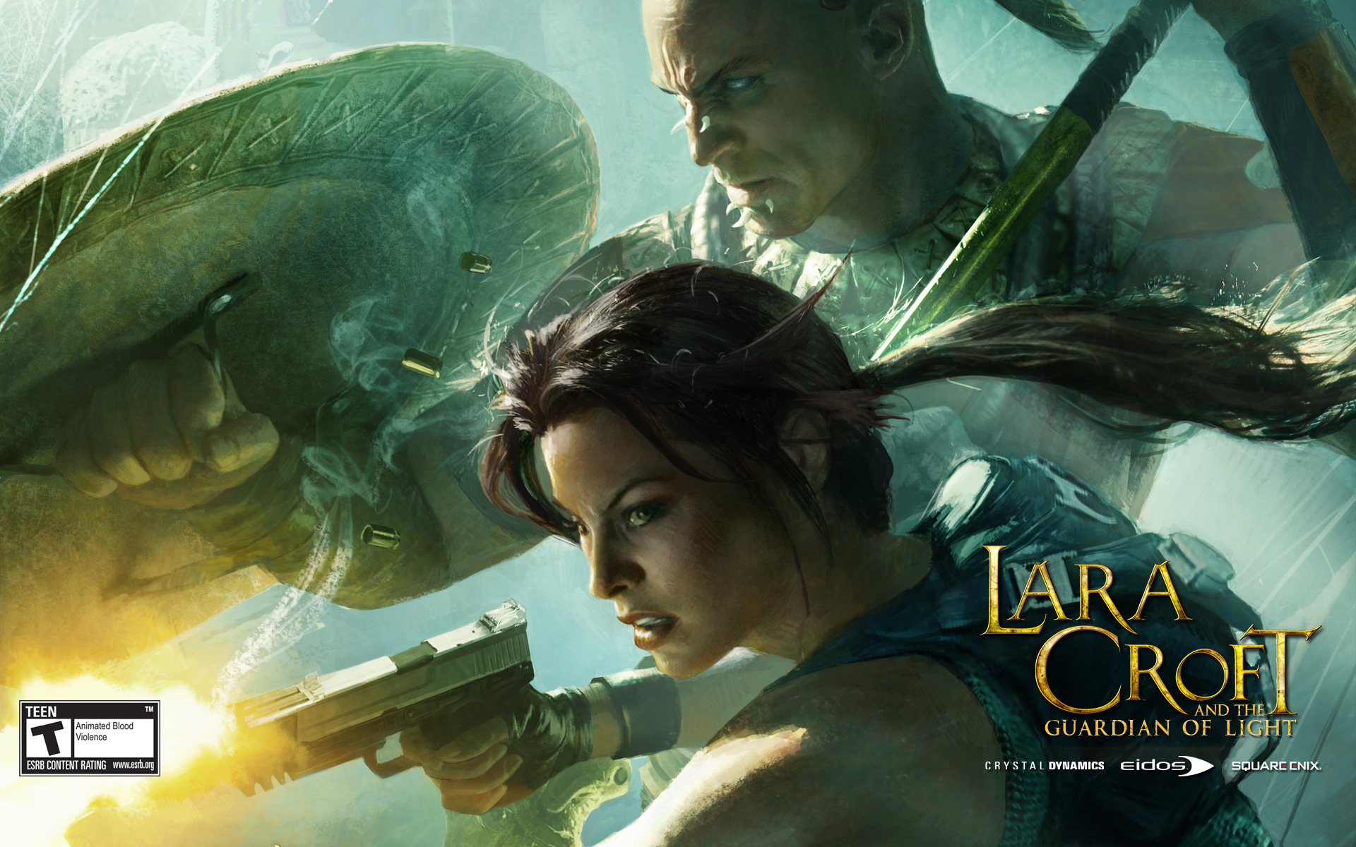 Lara Croft and the Guardian of Light Wallpaper in 1920x1200