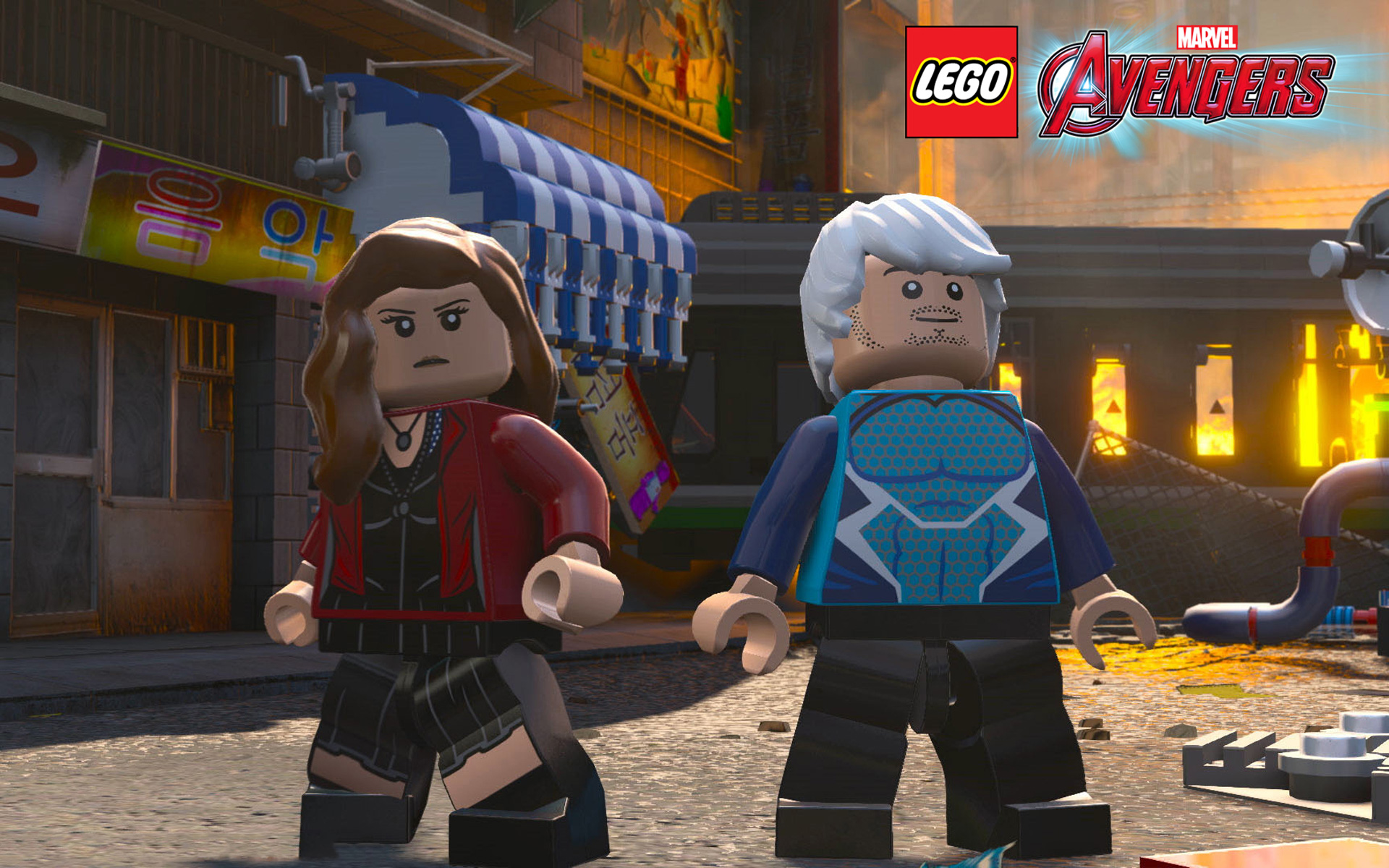 Free Lego Marvel's Avengers Wallpaper in 1920x1200