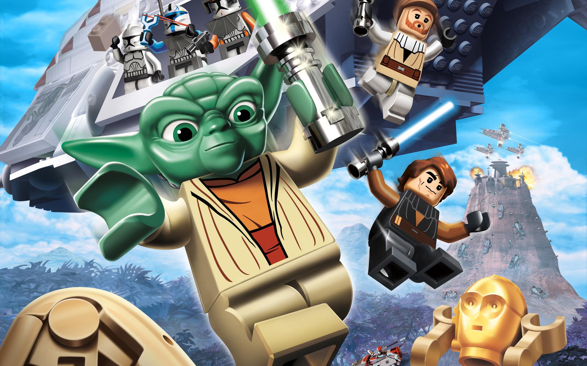 Free Lego Star Wars III: The Clone Wars Wallpaper in 1920x1200