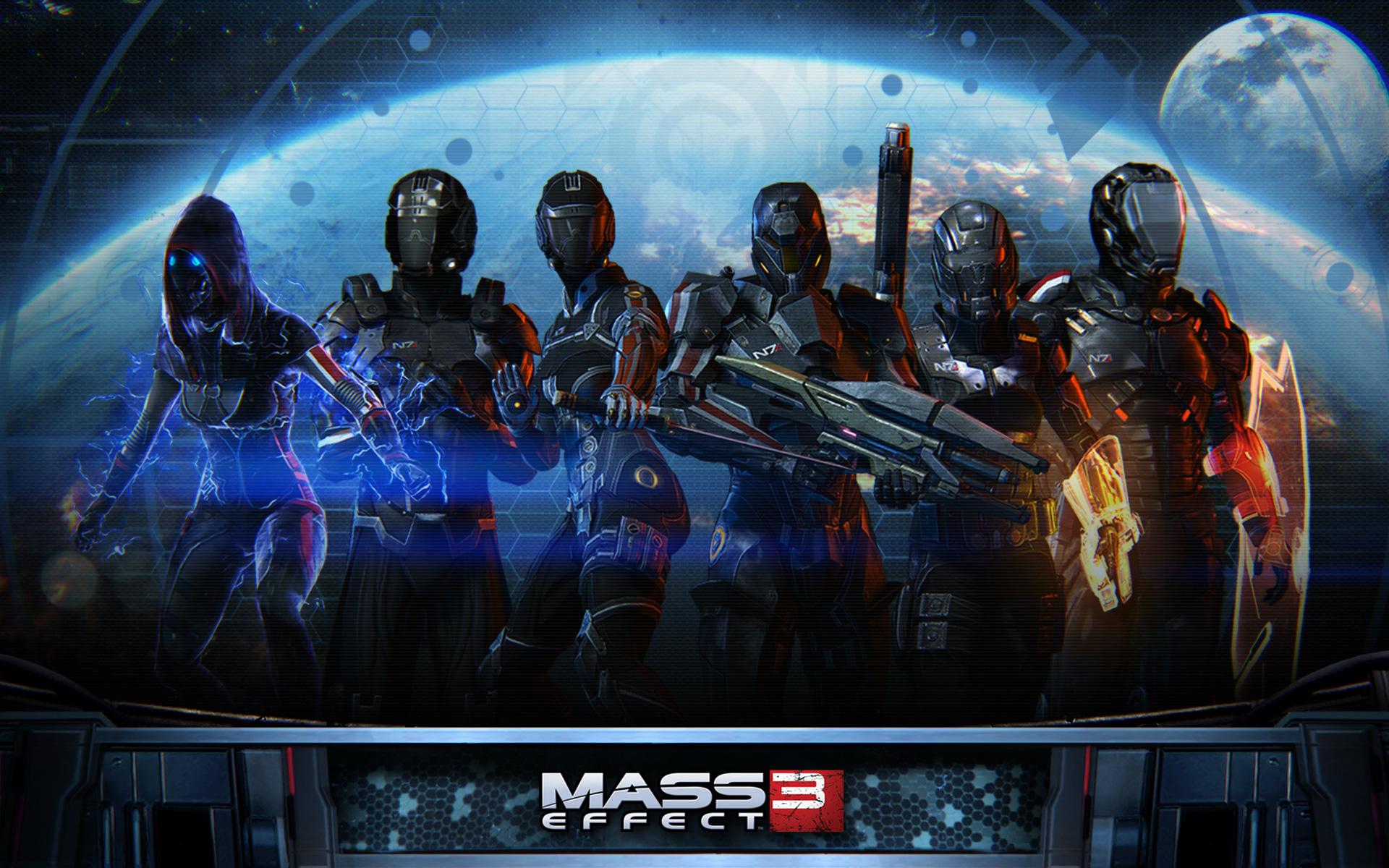 Free Mass Effect 3 Wallpaper in 1920x1200