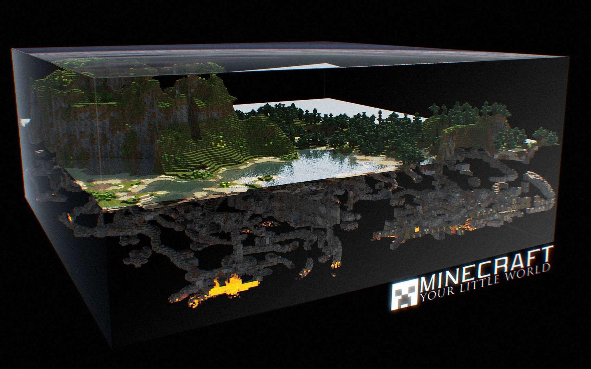 Free Minecraft Wallpaper in 1920x1200