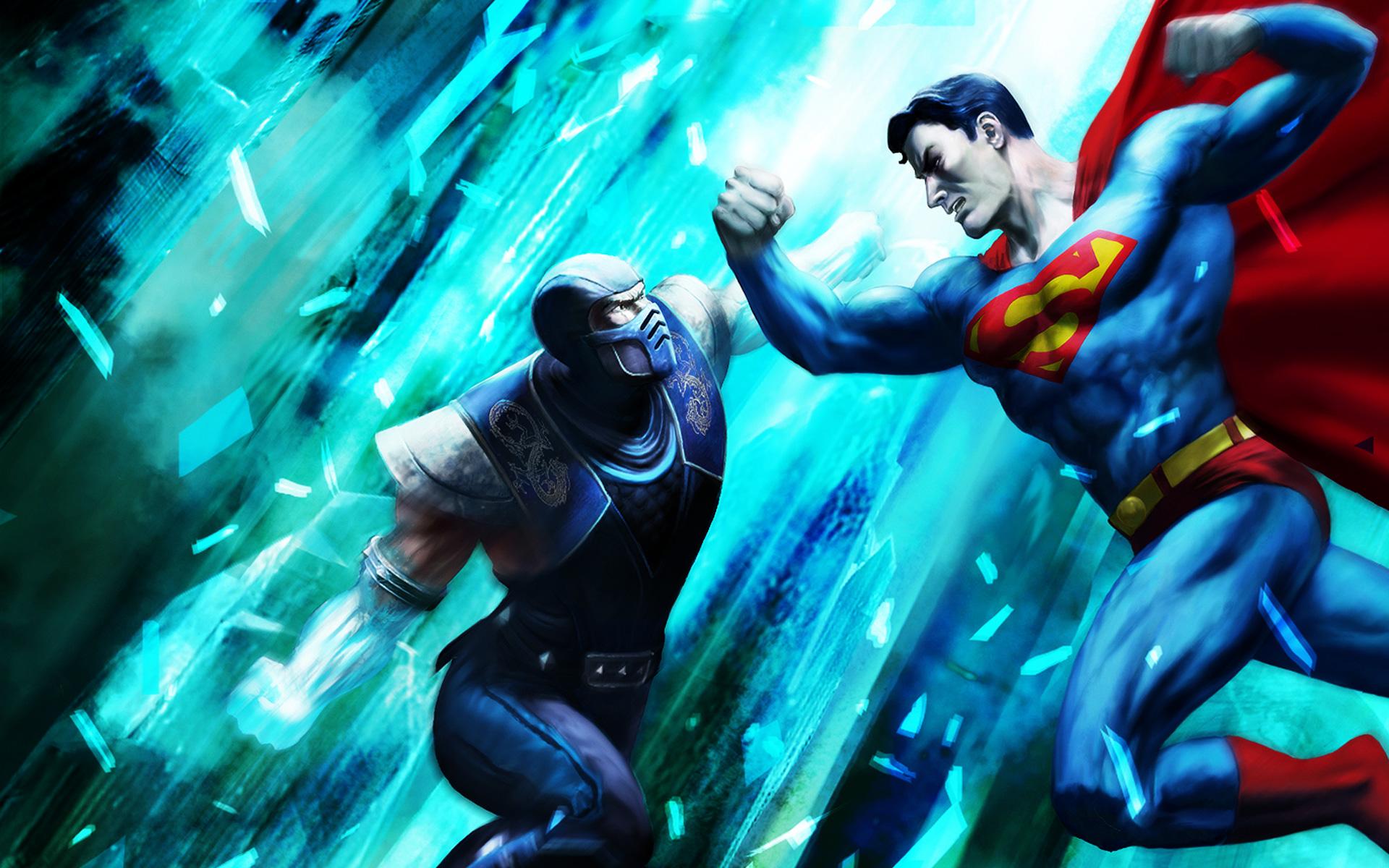 Mortal Kombat vs. DC Universe Wallpaper in 1920x1200
