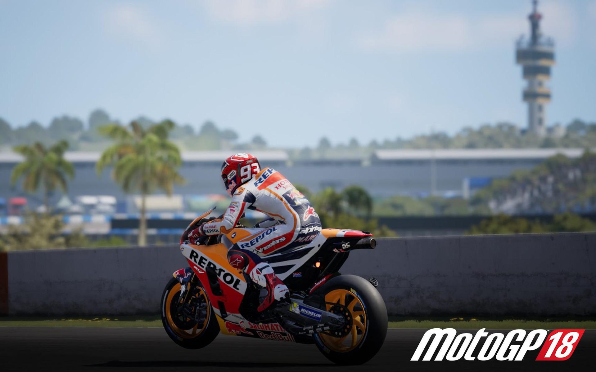 Free MotoGP 18 Wallpaper in 1920x1200