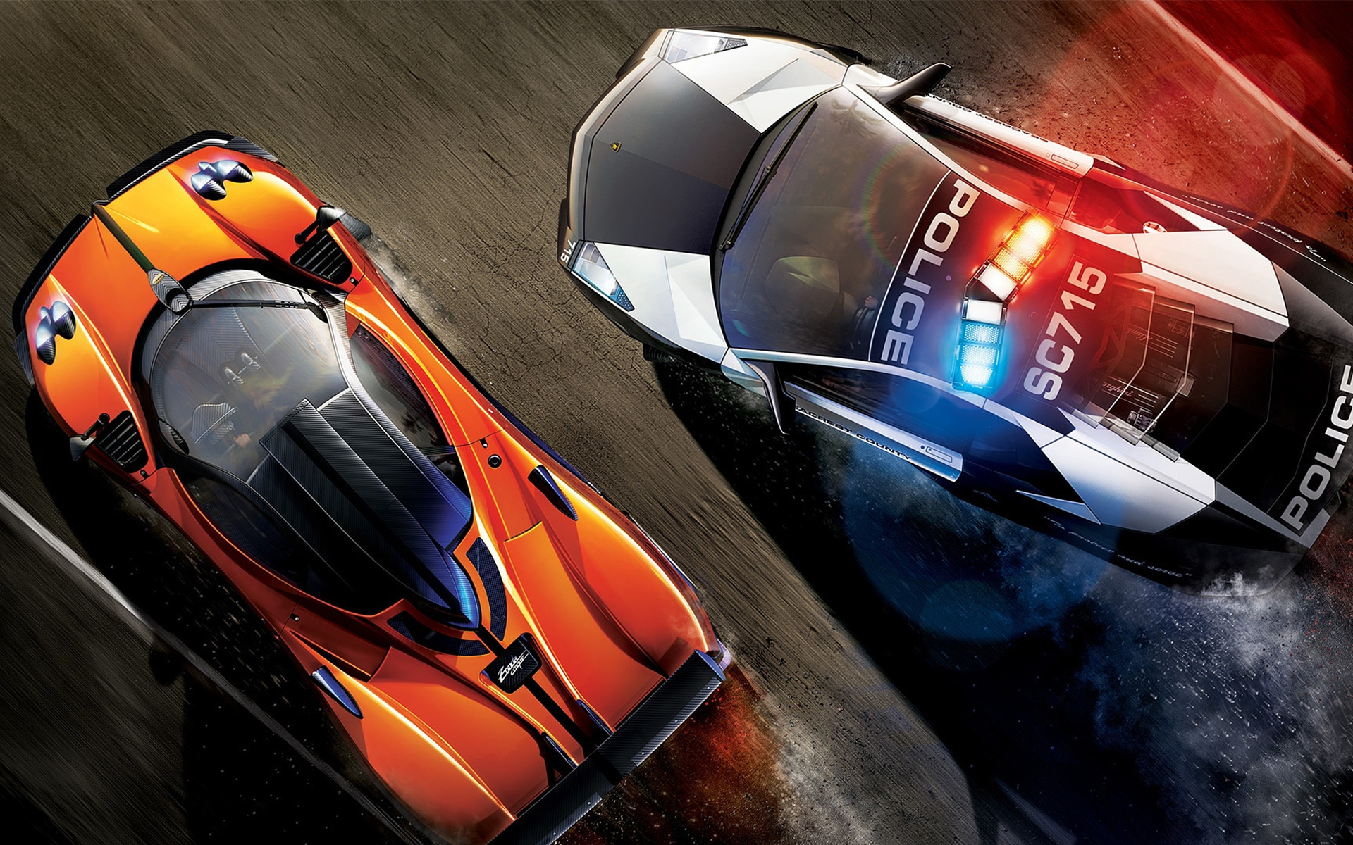 Need for Speed: Hot Pursuit Wallpaper in 1920x1200