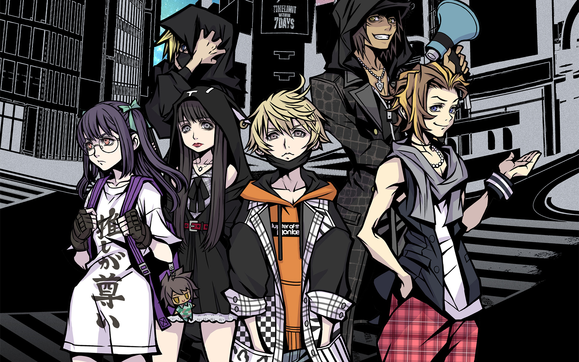 Free NEO: The World Ends with You Wallpaper in 1920x1200