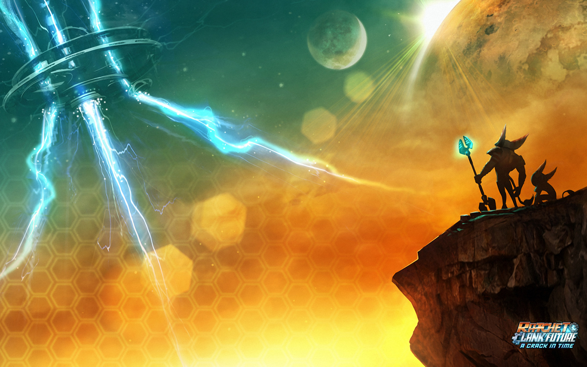Free Ratchet & Clank Future: A Crack in Time Wallpaper in 1920x1200