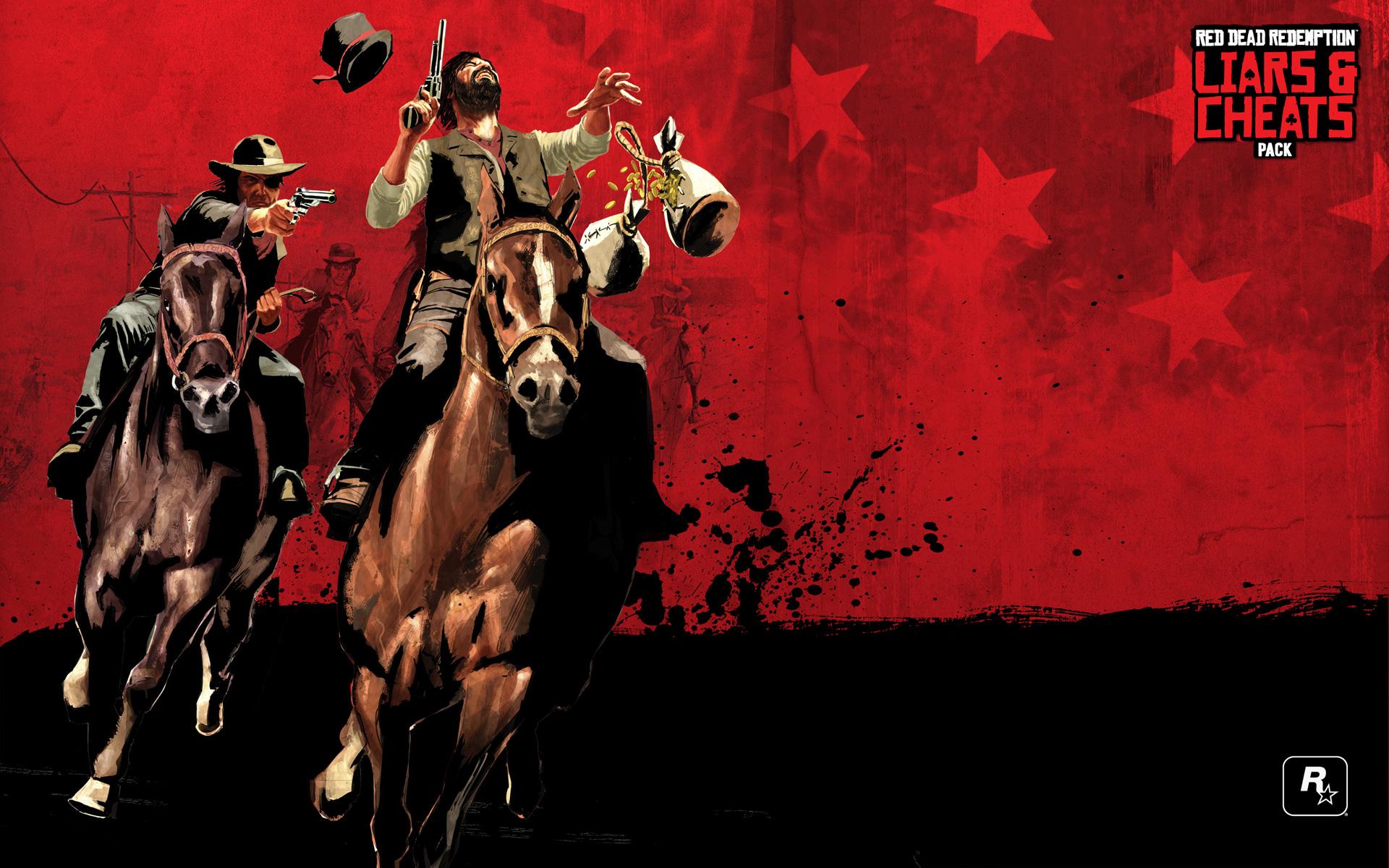 Free Red Dead Redemption Wallpaper in 1920x1200