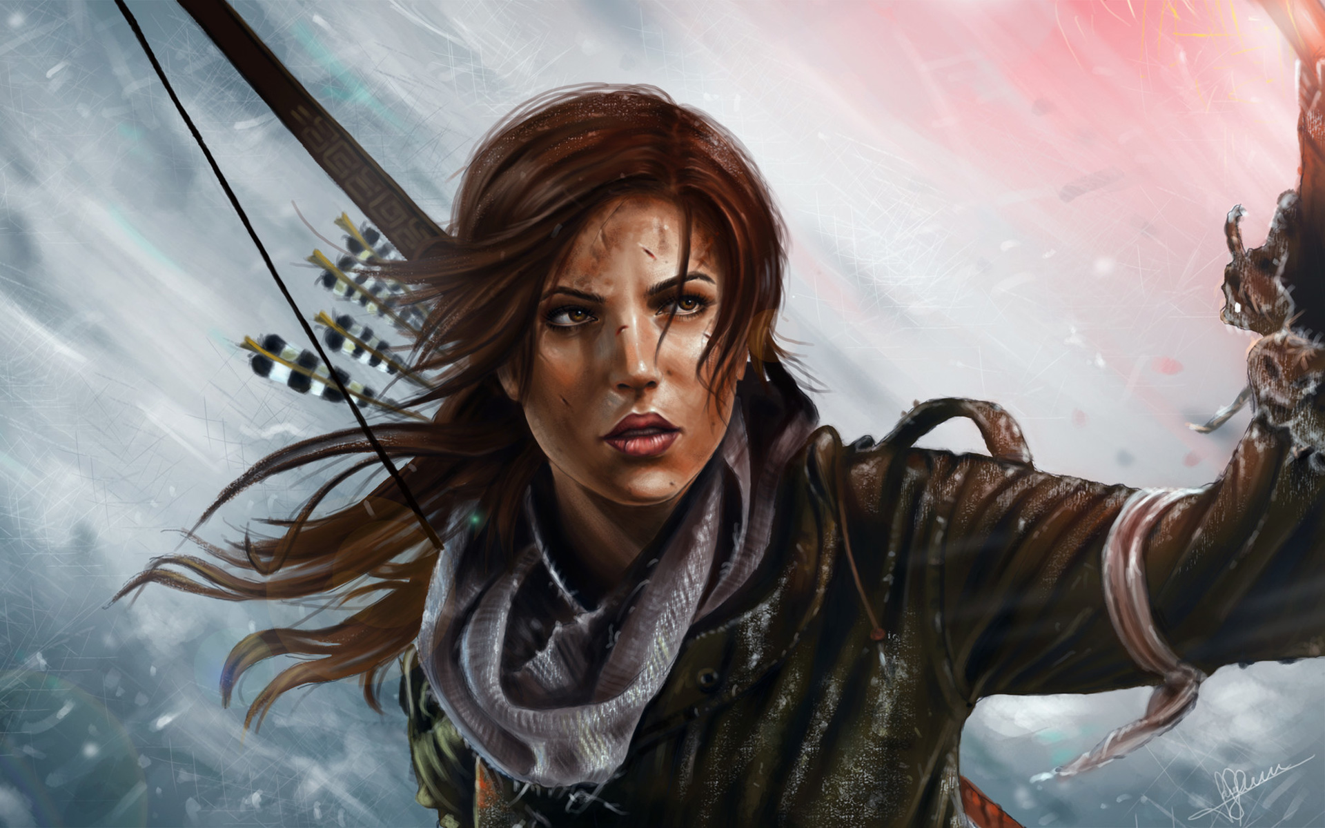 Free Rise of the Tomb Raider Wallpaper in 1920x1200