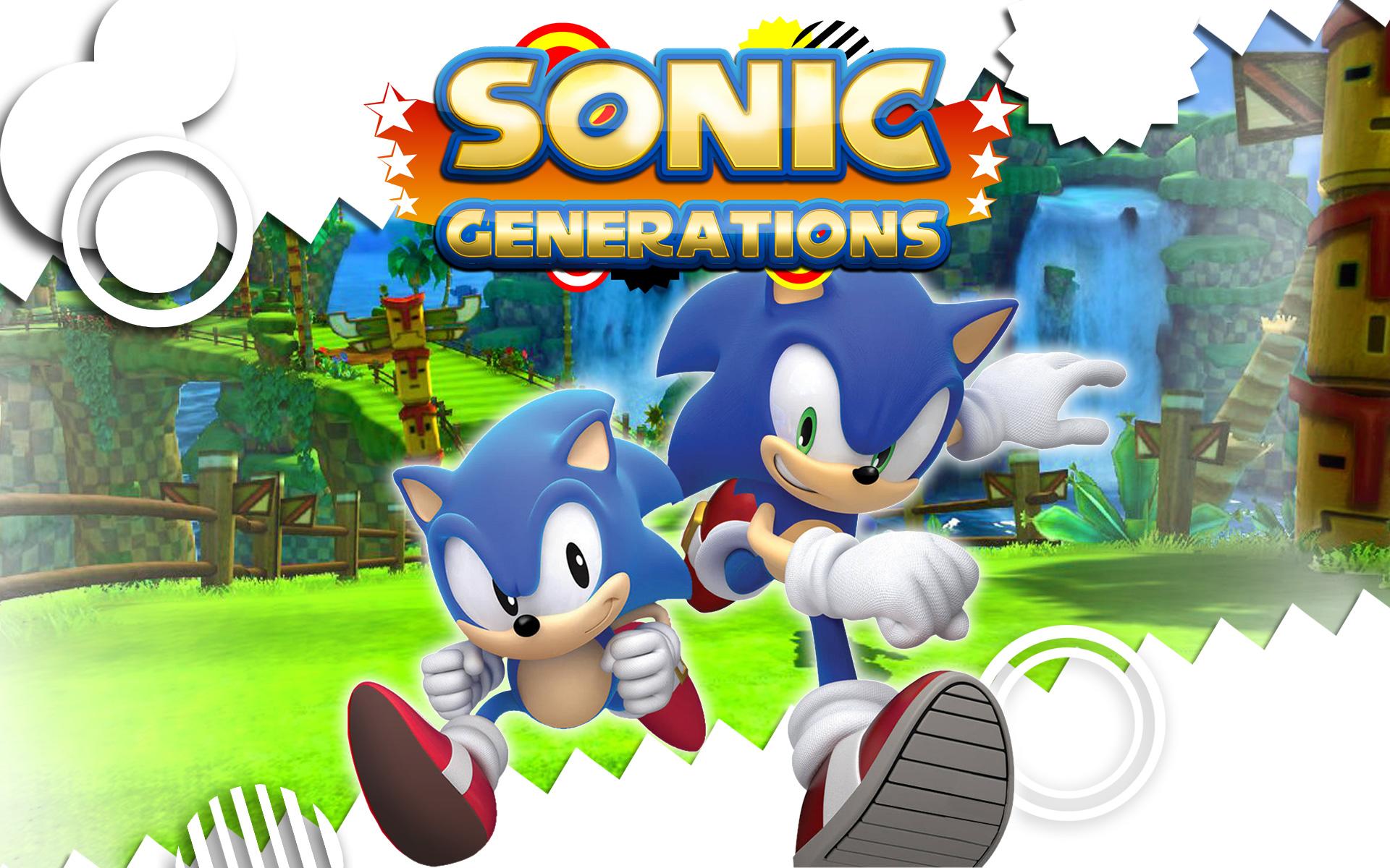 Free Sonic Generations Wallpaper in 1920x1200
