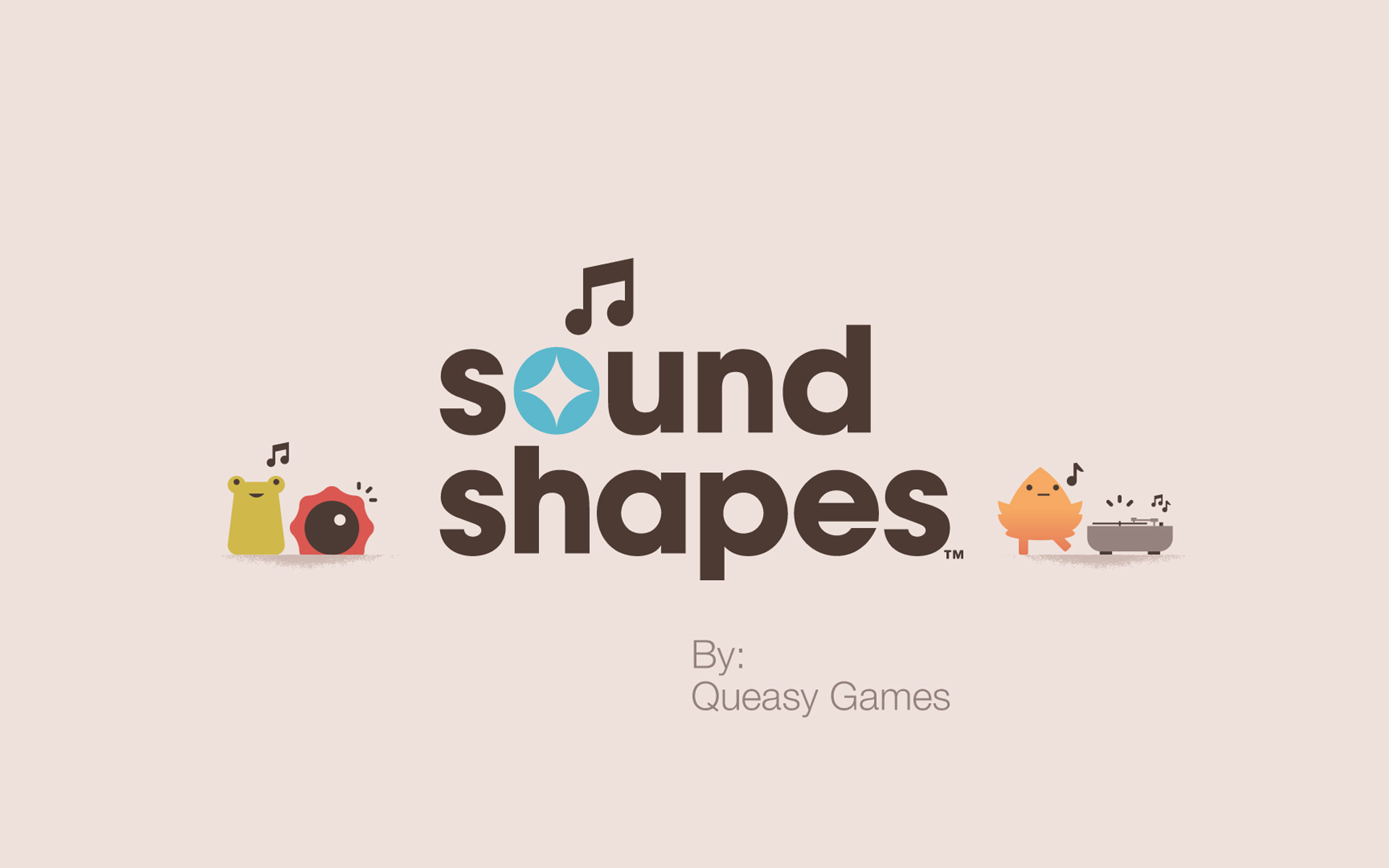 Free Sound Shapes Wallpaper in 1920x1200