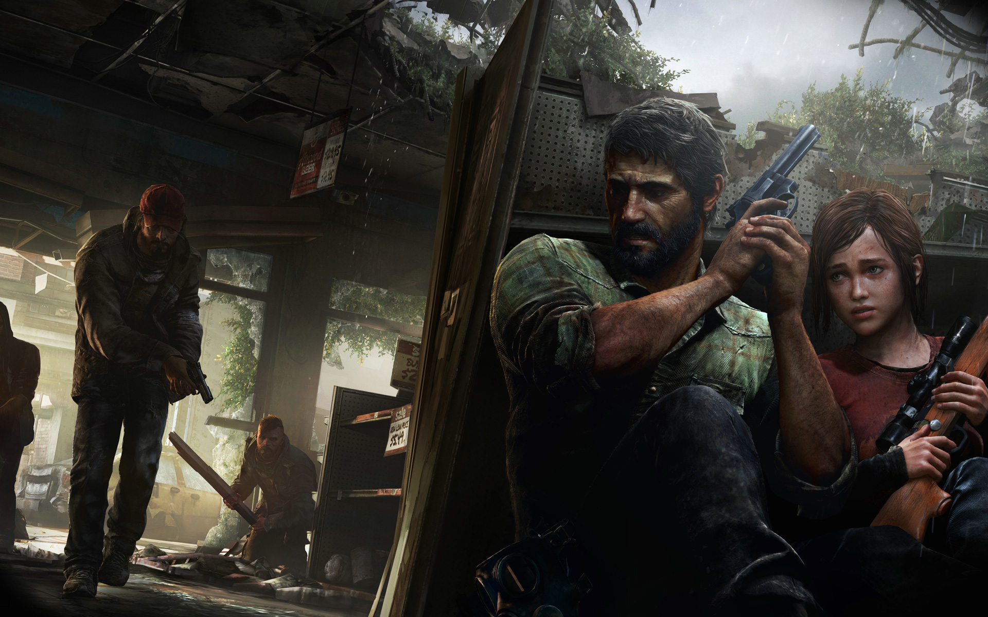 Free The Last of Us Wallpaper in 1920x1200