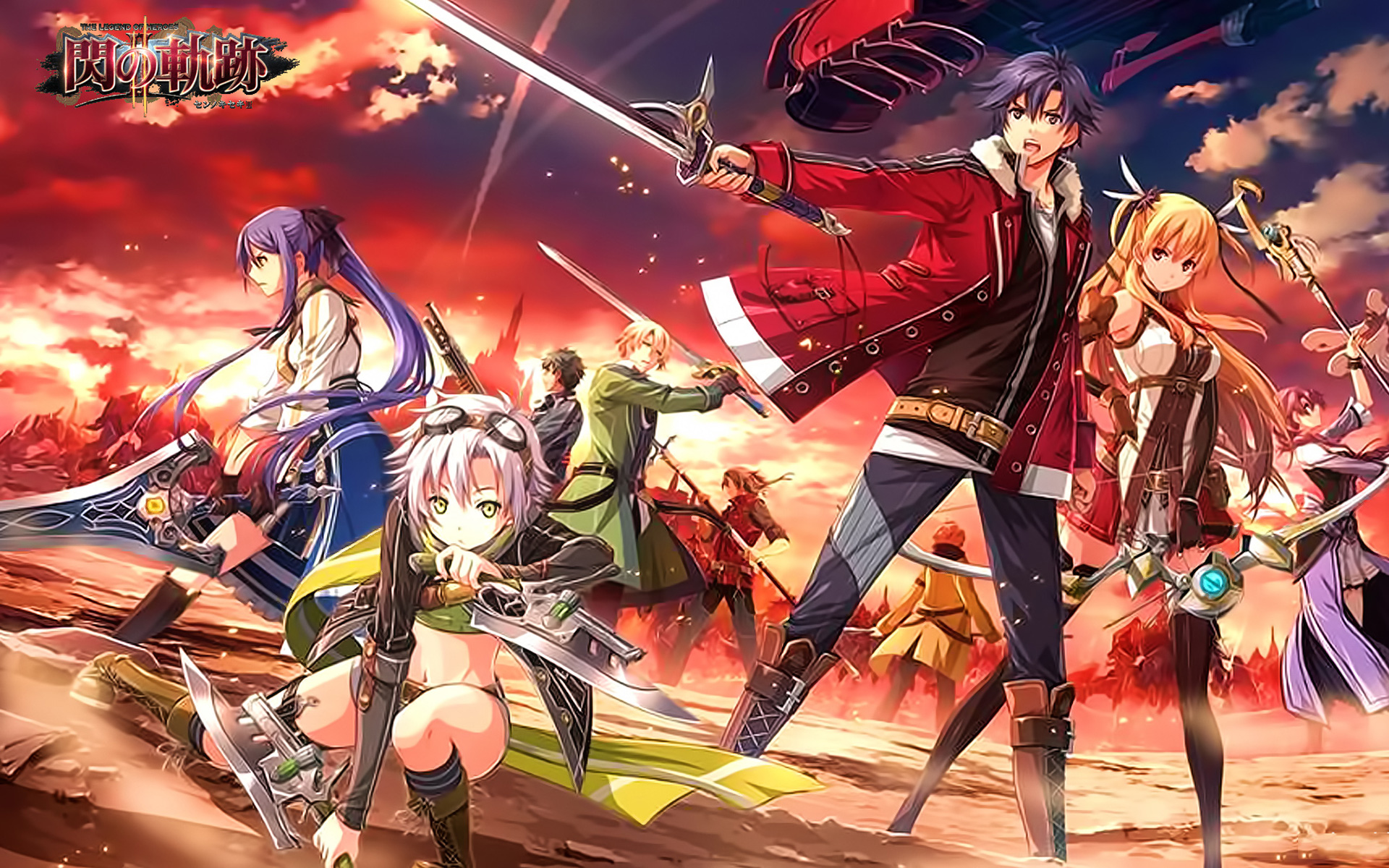 Free The Legend of Heroes: Trails of Cold Steel Wallpaper in 1920x1200