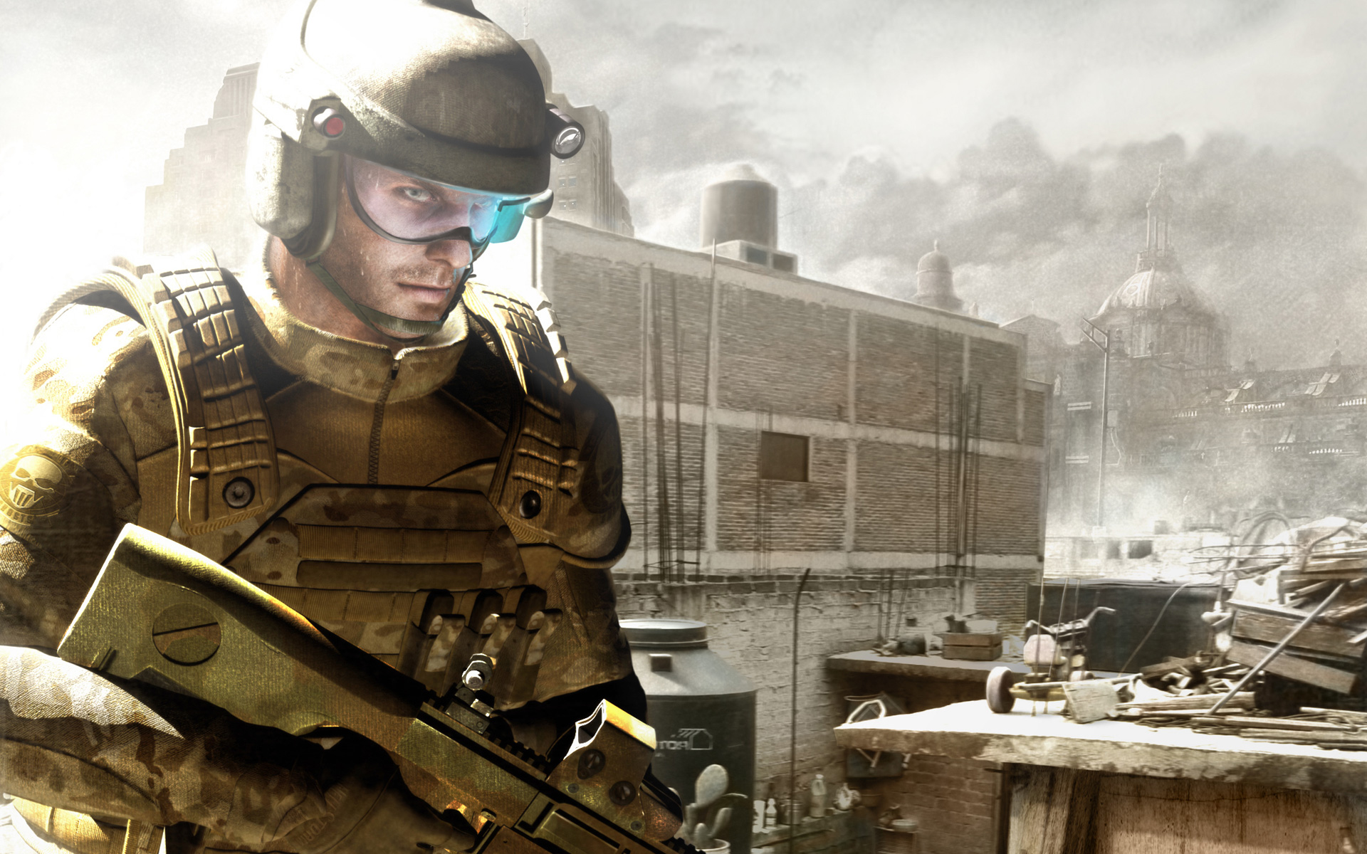 Free Ghost Recon: Advanced Warfighter Wallpaper in 1920x1200