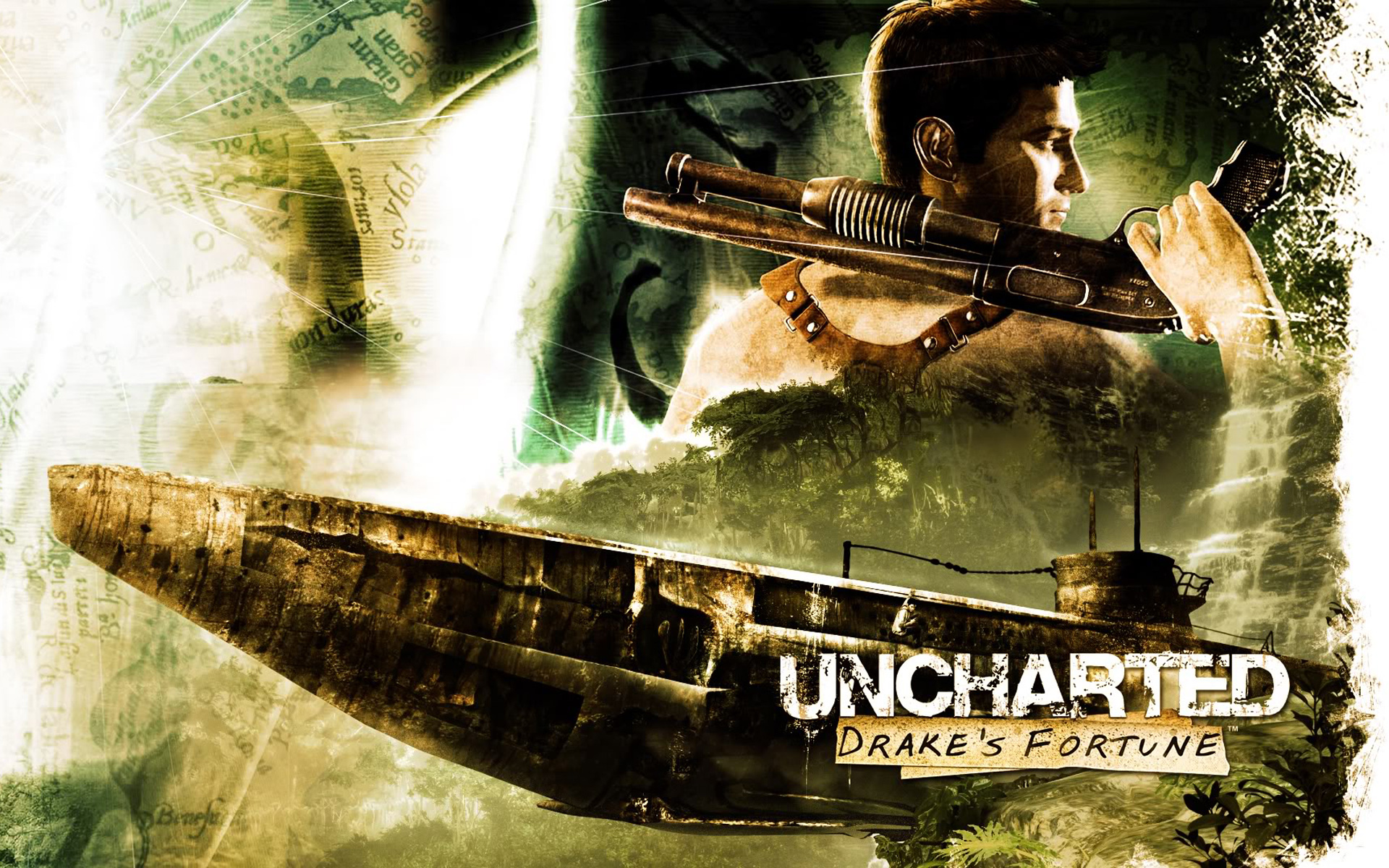 Free Uncharted: Drake's Fortune Wallpaper in 1920x1200