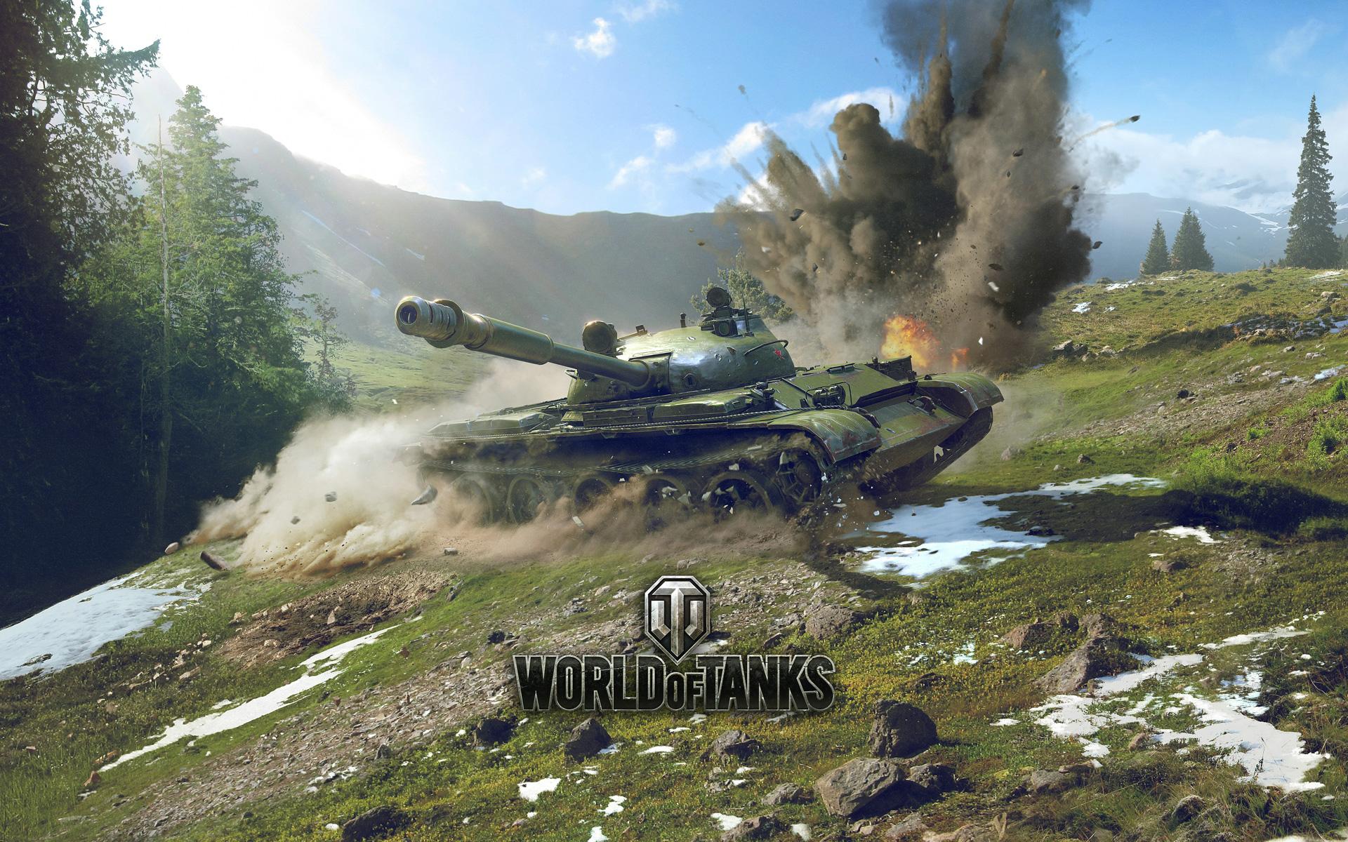Free World of Tanks Wallpaper in 1920x1200