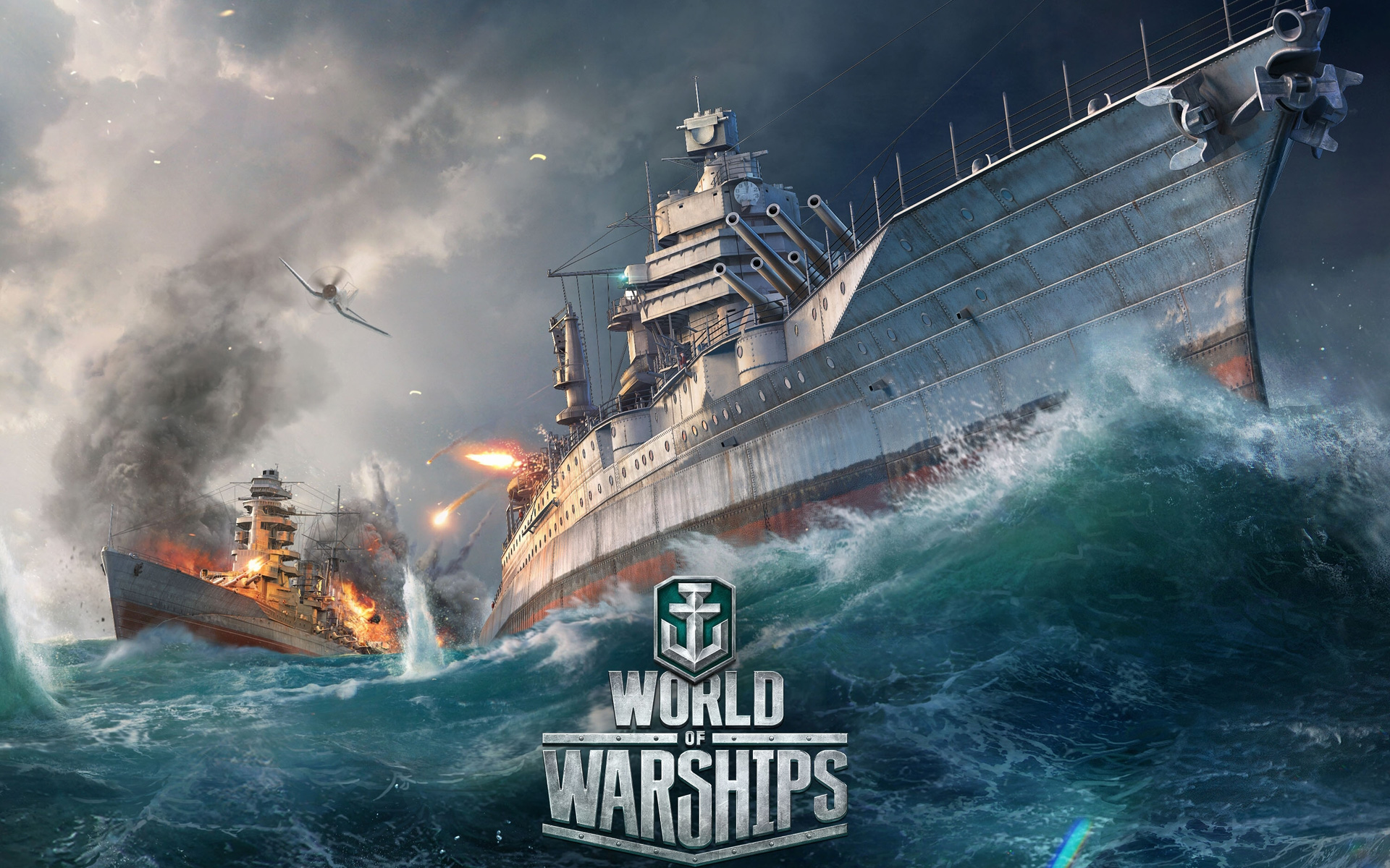 World of Warships Wallpaper in 1920x1200