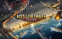 Free Aces of the Luftwaffe - Squadron Wallpaper