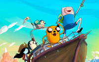 Free Adventure Time: Pirates of the Enchiridion Wallpaper