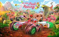 Free All-Star Fruit Racing Wallpaper