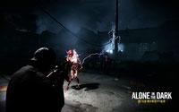 Free Alone in the Dark: Illumination Wallpaper