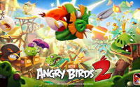 Free Angry Birds 2 Wallpaper