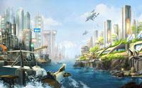 Free Anno 2070 Wallpaper