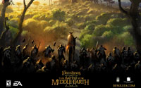 Free The Lord of the Rings: The Battle for Middle-earth II Wallpaper