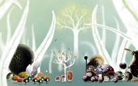 Free Botanicula Wallpaper