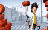 Free Cloudy with a Chance of Meatballs Wallpaper