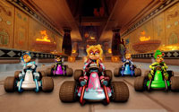 Free Crash Team Racing Nitro-Fueled Wallpaper