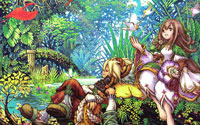 Free Dawn of Mana Wallpaper