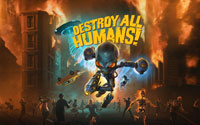 Free Destroy All Humans! Wallpaper