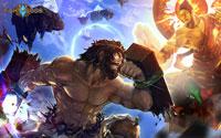 Free Fight of Gods Wallpaper