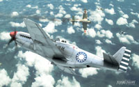 Free Flying Tigers: Shadows Over China Wallpaper
