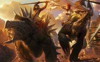 Free Golden Axe: Beast Rider Wallpaper