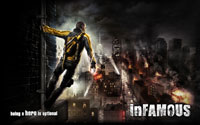 Free Infamous Wallpaper
