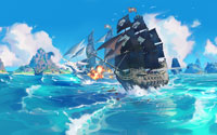 Free King of Seas Wallpaper