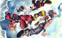 Free Kingdom Hearts: Chain of Memories Wallpaper