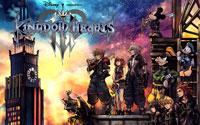 Free Kingdom Hearts III Wallpaper