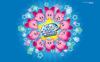 Free Kirby Mass Attack Wallpaper