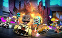 Free LittleBigPlanet Karting Wallpaper