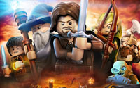 Free Lego The Lord of the Rings: The Video Game Wallpaper