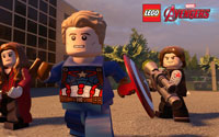 Free Lego Marvel's Avengers Wallpaper