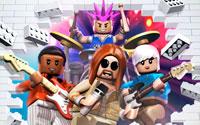 Free Lego Rock Band Wallpaper