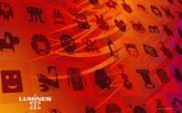 Free Lumines II Wallpaper