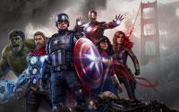 Free Marvel's Avengers Wallpaper