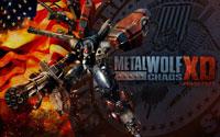 Free Metal Wolf Chaos XD Wallpaper
