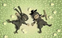 Free Mini Ninjas Wallpaper